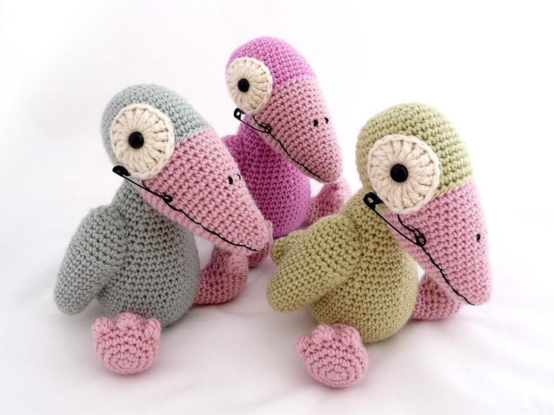 pastel punk birds