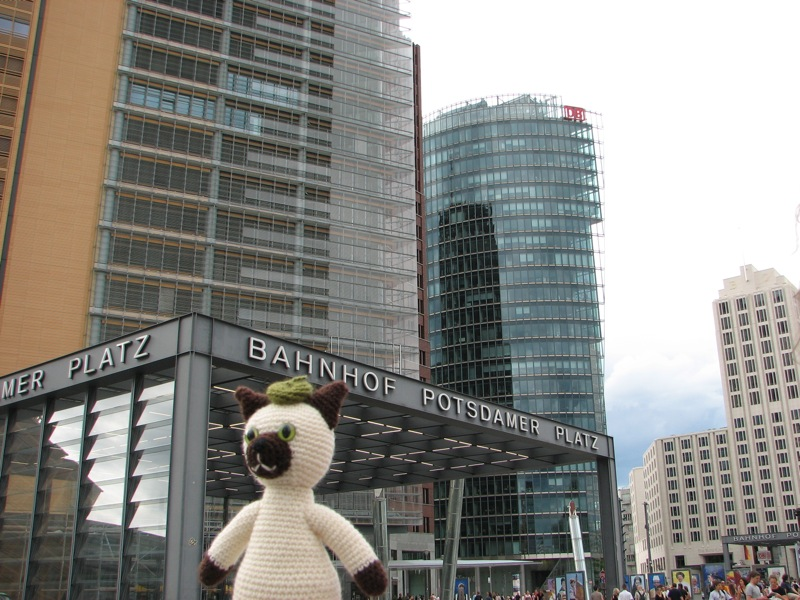 Sal at Potsdamer Platz, Berlin